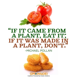 If it came-from-a-plant - eat it!