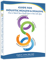 Holistic Health Books by Frank A Lucas PhD, NHC