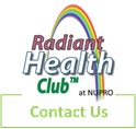Contact Radiant Health Club with questions about holistic health, natural healing & lifestyle medicine